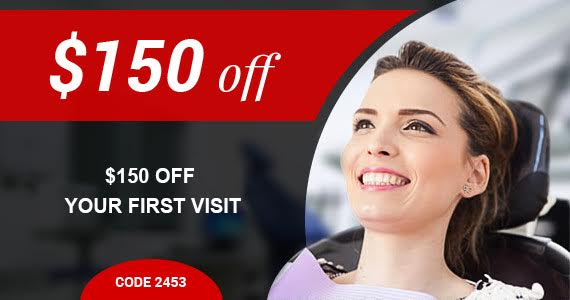 150$ off your first visit - Denture special